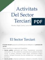 Les Activitats Del Sector Terciari