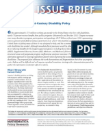 Roadmap to a 21st-Century Disability Policy