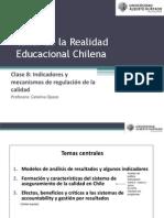 Clase 8. indicadores y mecanismos de regulación de la calidad
