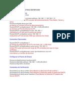 CONFIGURACIÓN DE DHCP EN EL ROUTER CISCO