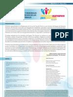 """Boletín N° 1 del Equipo de Derechos Humanos """"Pro Persona"""""""