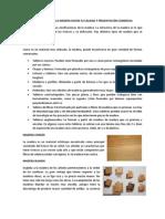 CLASIFICACION DE LA MADERA SEGÚN SU CALIDAD Y PRESENTACIÓN COMERCIAL