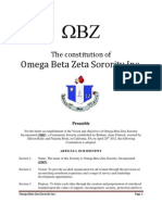 The Constitution of Omega Beta Zeta Pdf1