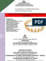 PPC - PROJETO PEDAGÓGICO DO CURSO DE LICENCIATURA PLENA EM PEDAGOGIA