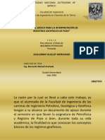 Interpretación de Registros Geofísicos de Pozo