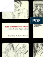 Historical Poetics of Cinema - David Bordwell