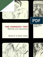 Historical Poetics of Cinema - David Bordwell