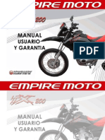 Manual de Usuario TX 200 2010