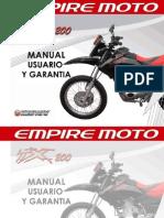 Manual de Usuario TX 200 2010