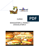 Manual Banqueteria,Pan y Chocolateria