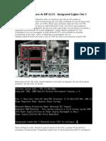 Configuración y uso de HP iLO2
