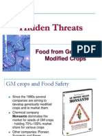 Hidden Threats GMO Food 2009 01 19