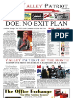 The Valley Patriot, June 2012 Edition