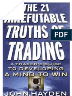 The 21 Irrefutable Truths of Trading