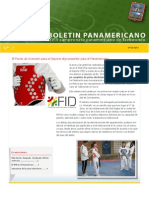 boletín informativo del XVIII Campeonato Panamericano de Taekwondo.