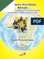 Résilience d'un Géant Africain Volume III