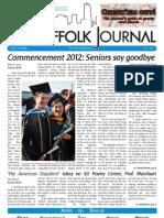 The Suffolk Journal Orientation 2012