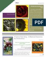 Spring 2012 e Newsletter