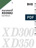 Mits XD300U Manual