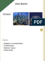 diapositiva de la contaminación