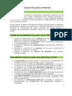 Proyecto Educativo Ambiental - IE Perú