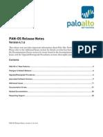PAN OS 4.1.6 Release Notes RevA