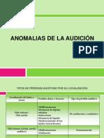 ANOMALIAS DE LA AUDICIÓNtema2