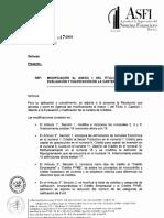 ASFI_047-Evaluación y Calificación de Cartera