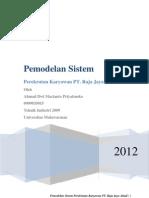 Pemodelan Sistem PT Raja Jaya Abadi