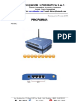 Proforma Access Point Airlive Wla-5200ap 20dbm