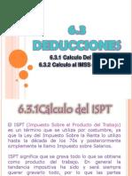 UNIDAD 6 (6.3.1 Calculo Del ISPT)