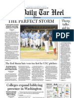 The Daily Tar Heel for June 7, 2012