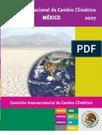 ESTRATEGIA NACIONAL DE CAMBIO CLIMATICO MÉXICO 2007