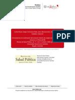 Concordancia en La Estimacion Del Consumo Maximo de Oxigeno Entre Una Prueba de Esfuerzo y El Polar s810