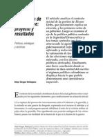 El gobierno de Álvaro Uribe proyecto y resultados. Políticas, estrategias y doctrinas