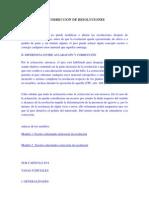 ACLARACiÓN Y CORRECCiÓN DE RESOLUCIONES