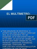 El Multimetro