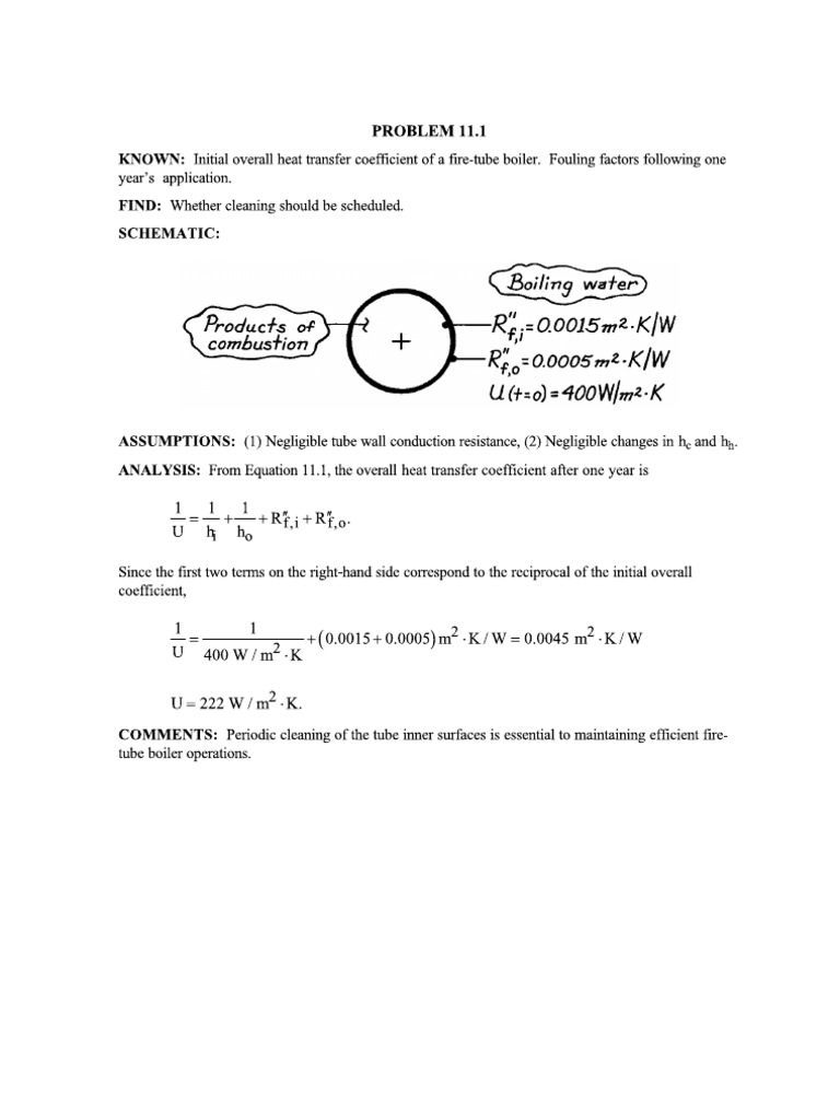 heat and mass transfer solution manual