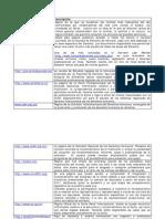 Recomendaciones Paginas Web, Derecho.