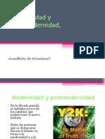 Modernidad y Postmodernidad Sintensis