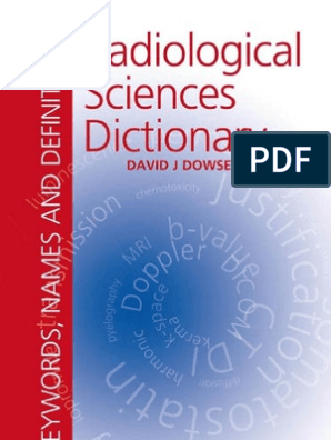 Radiological Sciences Dictionary Absorbed Dose Ct Scan