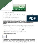Excel Celdas 1
