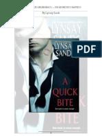 01 Vampiros de Argeneau 1 - Mordisco Rapido by Lynsay Sands