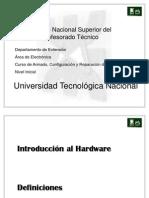 Curso Armado Reparacion y Configuracioon de Pc ( UTN )