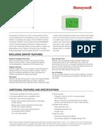 Honeywell Zwstat Data Sheet