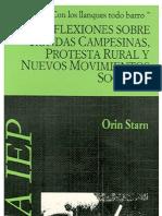 Reflexiones Sobre Rondas Campesinas, Protesta Rural y Nuevos Movimientos Sociales.