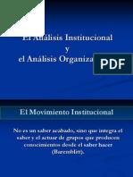 Analisis Institucional Ao Conceptos