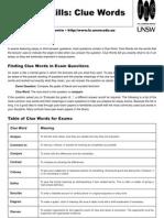 Exam Verbs Articles