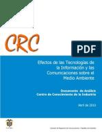 Documento Analisis Tecnologias en Medio Ambiente Crt