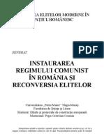 Reconversia Elitelor in Regimul Comunist